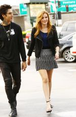 BELLA THORNE Out Shopping in New York 2110