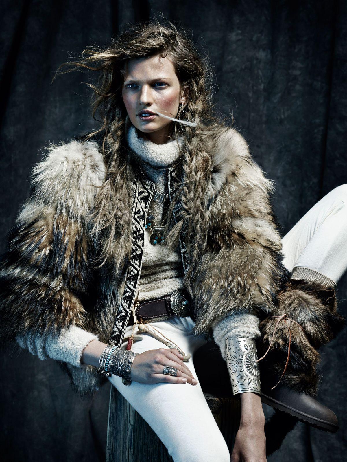 BETTE FRANKE - Vogue Maazine Photoshoot