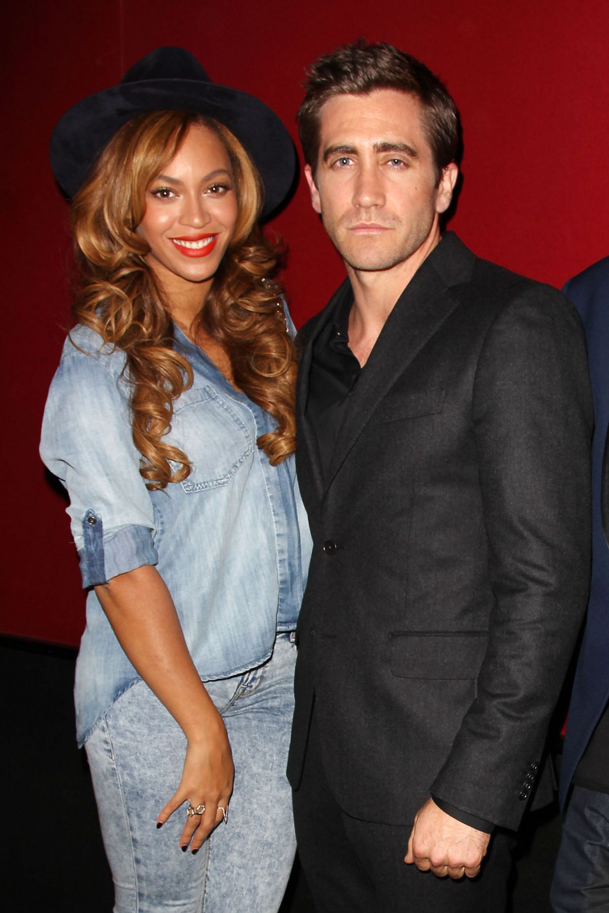 BEYONCE at Nightcrawler Premiere in New York