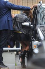 BEYONCE Leaves BHS Headquarters in London
