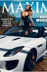 BREGIE HEINEN in Maxim Magazine, November 2014 Issue