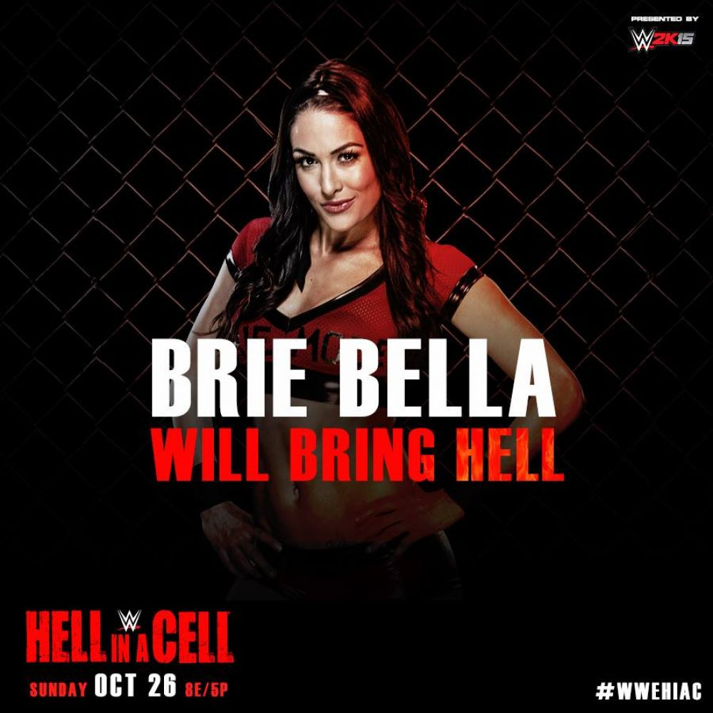 BRIE BELLA - WWE Hell in a Cell 2014 PPV Promo