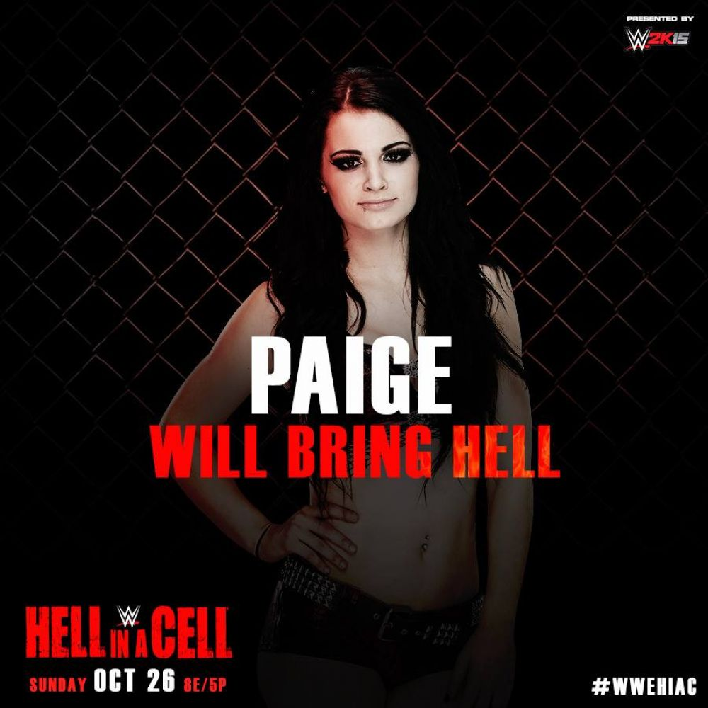 BRITANI KNIGHT - WWE Hell in a Cell 2014 PPV Promo