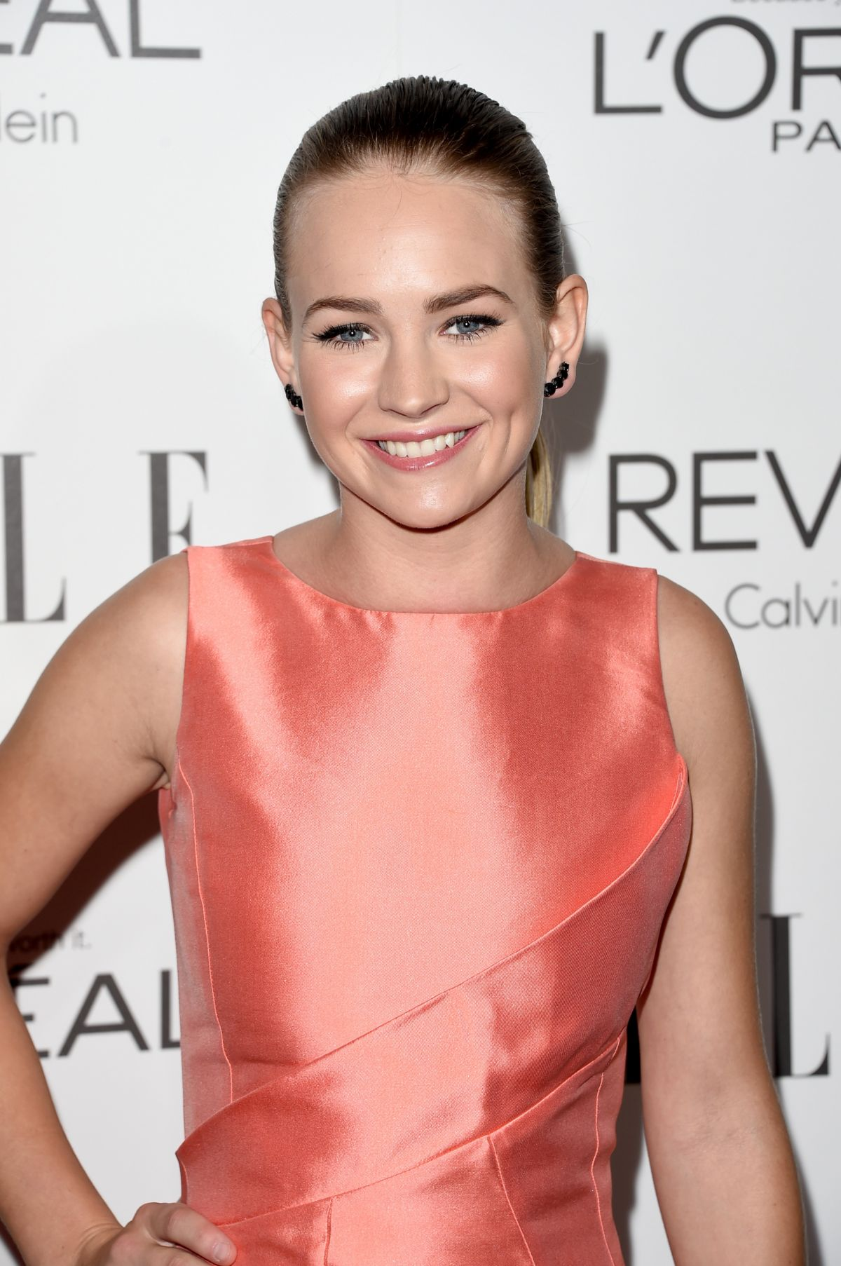 BRITT ROBERTSON at Elle's Women in Hollywood Awards in Los Angeles