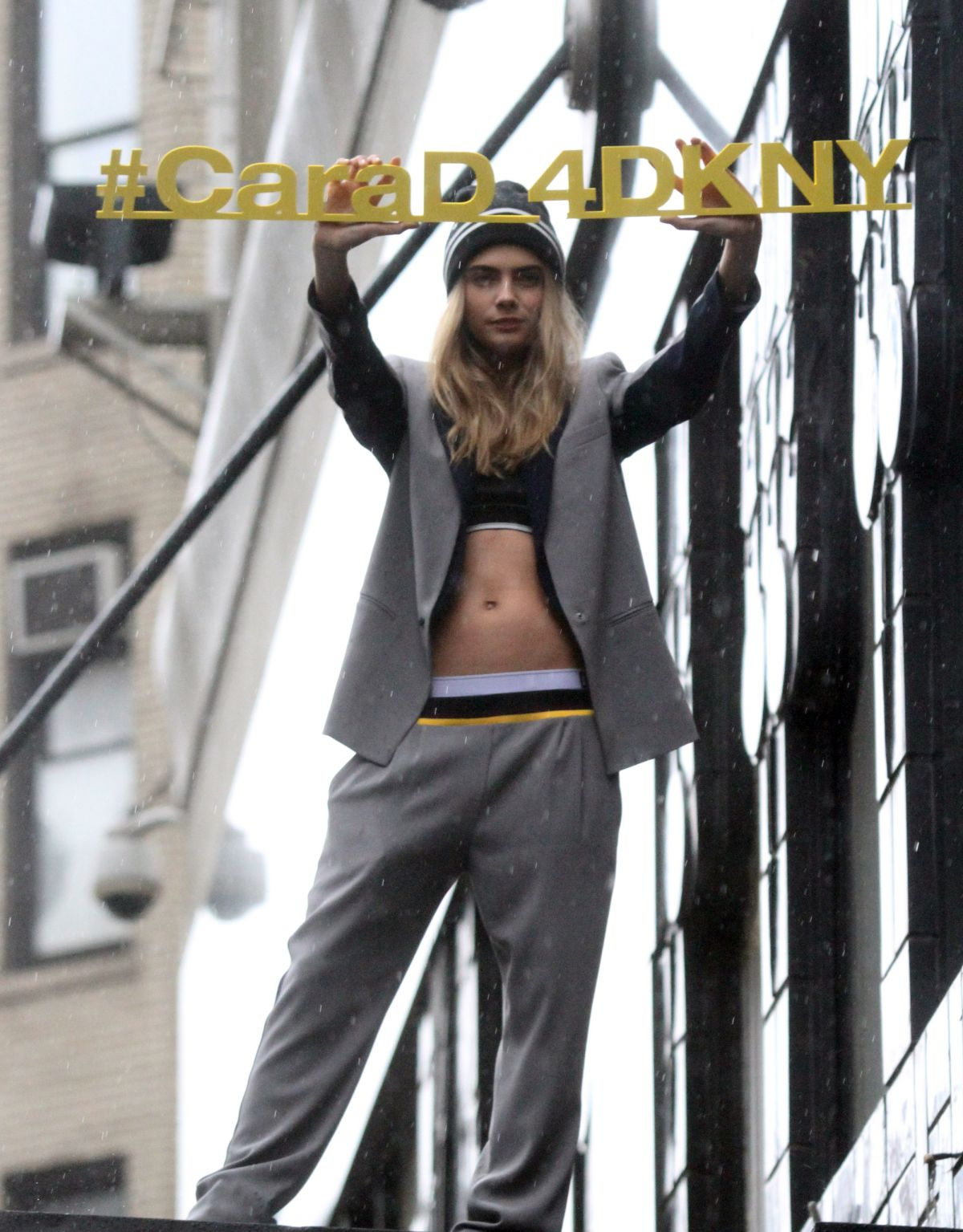47e974428c51 CARA DELEVINGNE at Cara D for DKNY Capsule Collection Launch at Bloomingdale