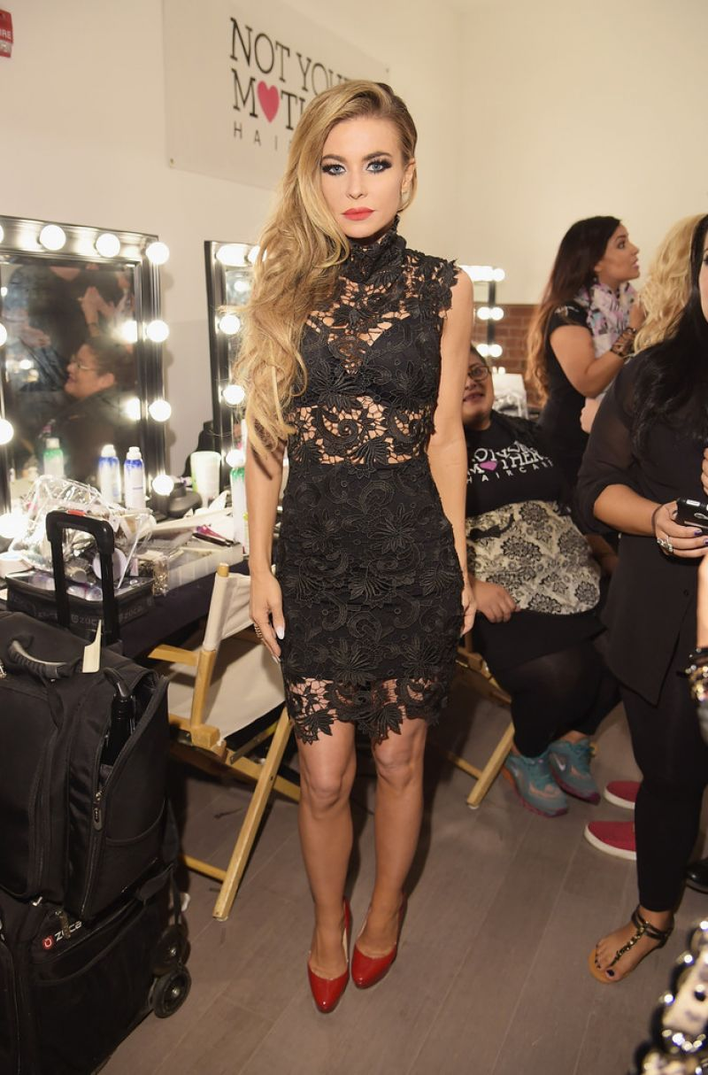 Carmen Electra At Wantmylook By Lilly Ghalichi Style 360 Fashion Show In New York Hawtcelebs
