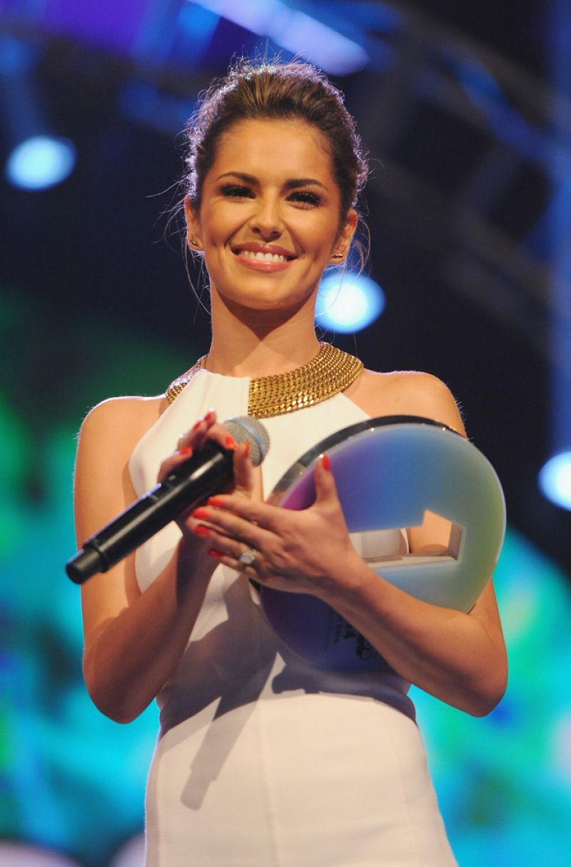 CHERYL COLE at Radio One Teen Awards at Wembley Arena in London