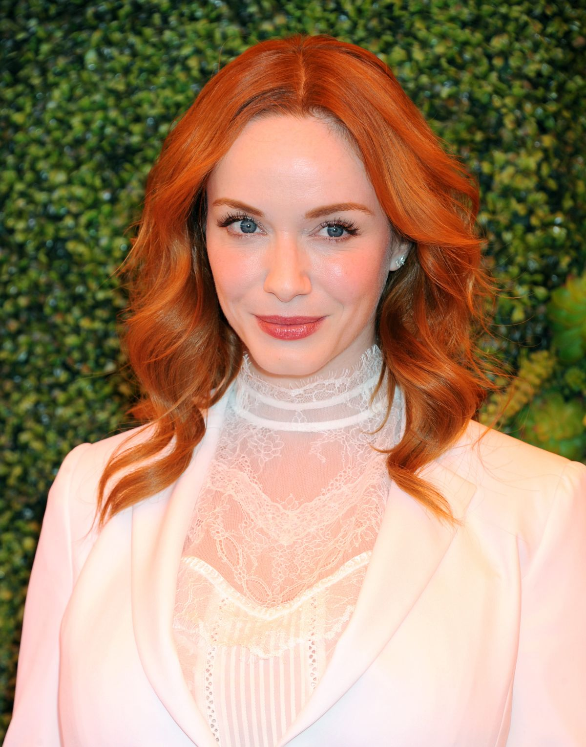CHRISTINA HENDRICKS at Veuve Clicquot Polo Classic 2014 in Los Angeles