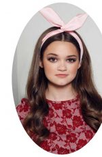 CIARA BRAVO in Afterglow Magazine, October 2014 Issue