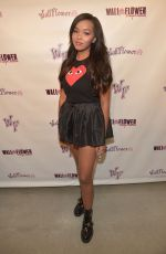 DAPHNE BLUNT at Wallflower Jeans Fashion Night Out in Los Angeles
