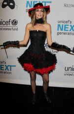 DAWN OLIVIERI at Unicef's Next Generation's Masquerade Ball in Los Angeles