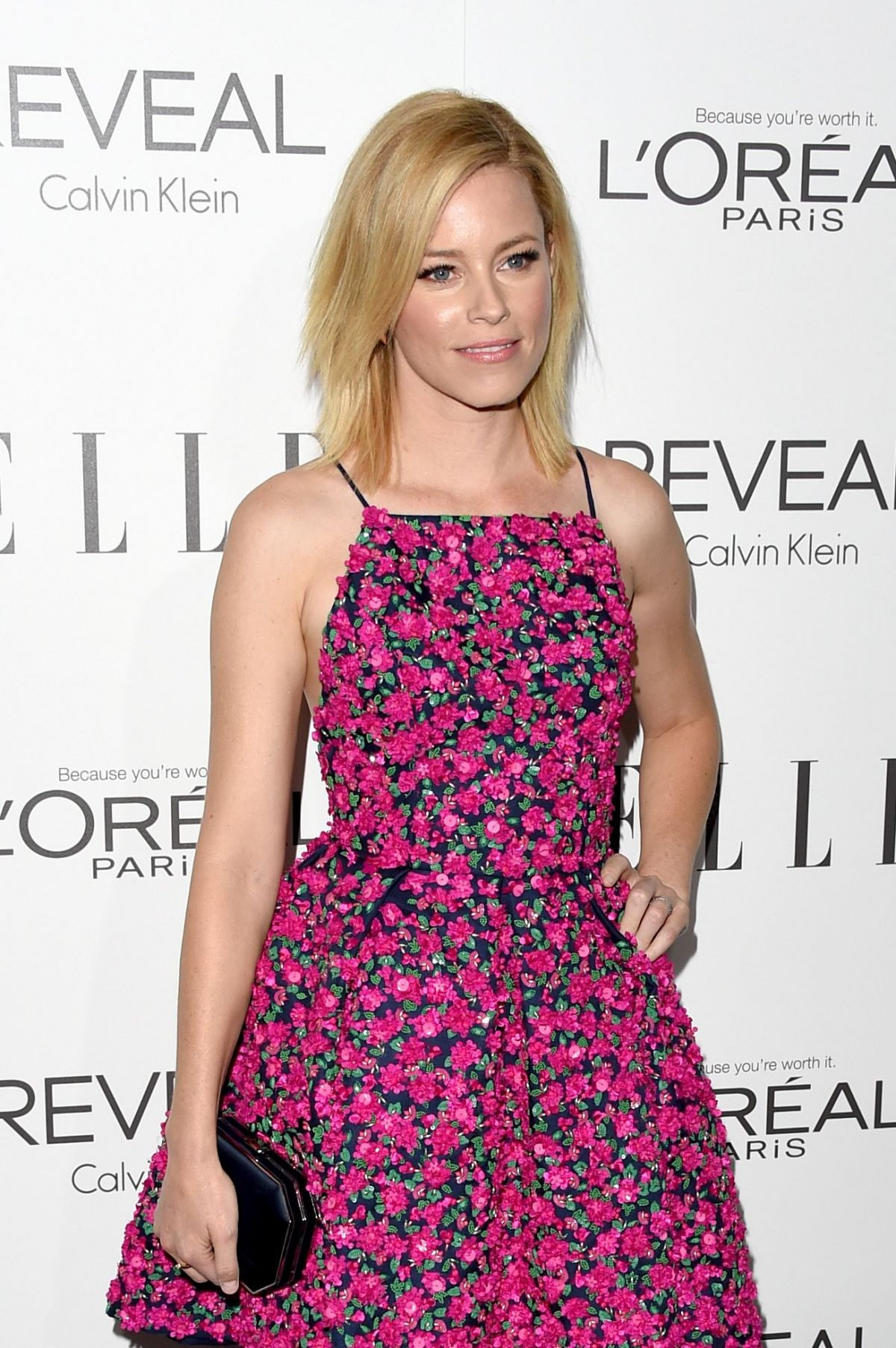 ELIZABETH BANKS at Elle