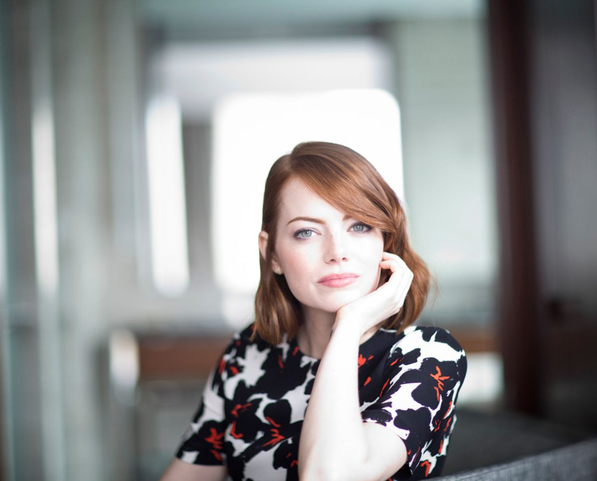 EMMA STONE – New York Times Magazine Photoshoot - HawtCelebs