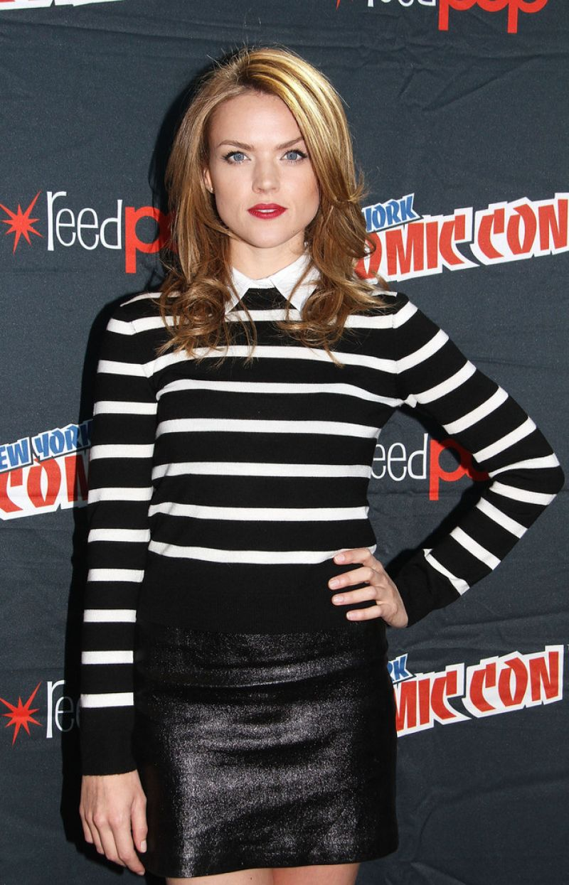 ERIN RICHARDS at Comic-con in New York