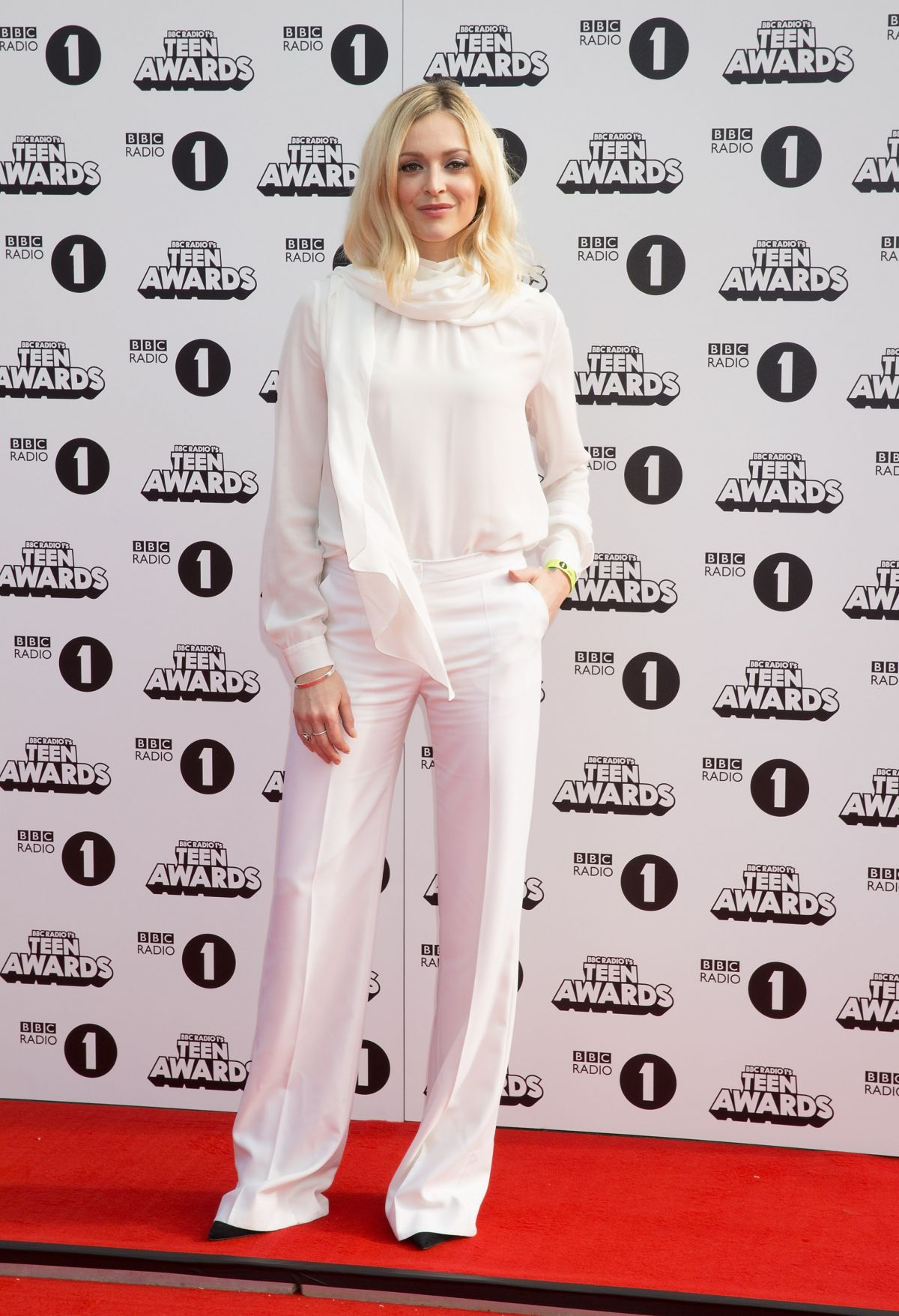 FEARNE COTTON at Radio One Teen Awards at Wembley Arena in London
