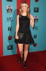 FIONA GUBELMANN at American Horror Story: Freak Show Premiere in Hollywood