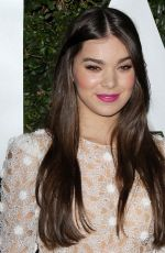 HAILEE STEINFELD at Michael Kors Launch of Claiborne Swanson Frank