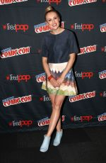 HANNAH NEW at Black Sails Press Conference at Comic-con in New York