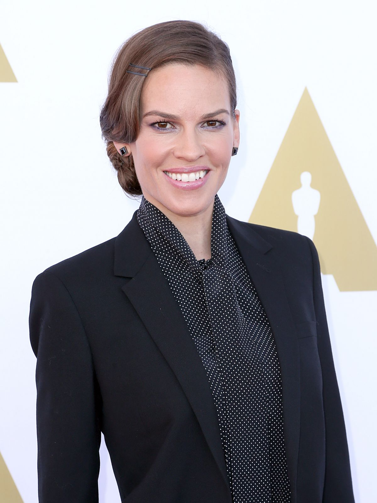 HILARY SWANK at Ampas Hollywood Costume Luncheon