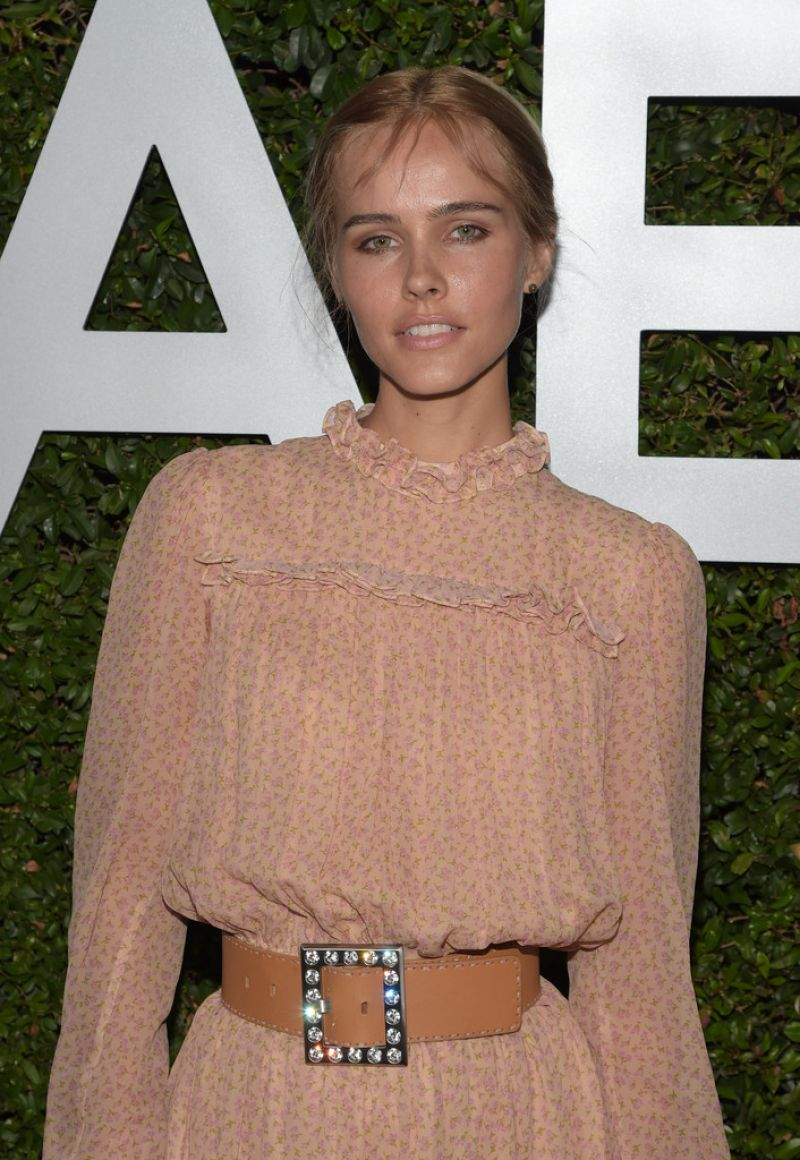 ISABEL LUCAS at Michael Kors Launch of Claiborne Swanson Frank's Young Hollywood