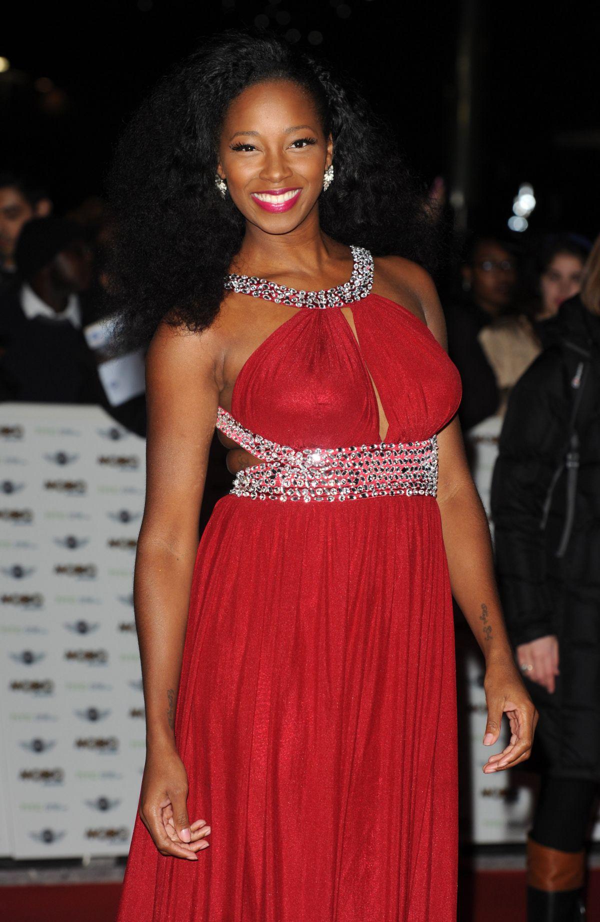 JAMELIA at Mobo Awards in London