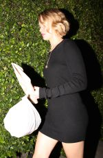 JENNIFER LAWRENCE Leaves Ago Restaurant in Los Angeles 2210