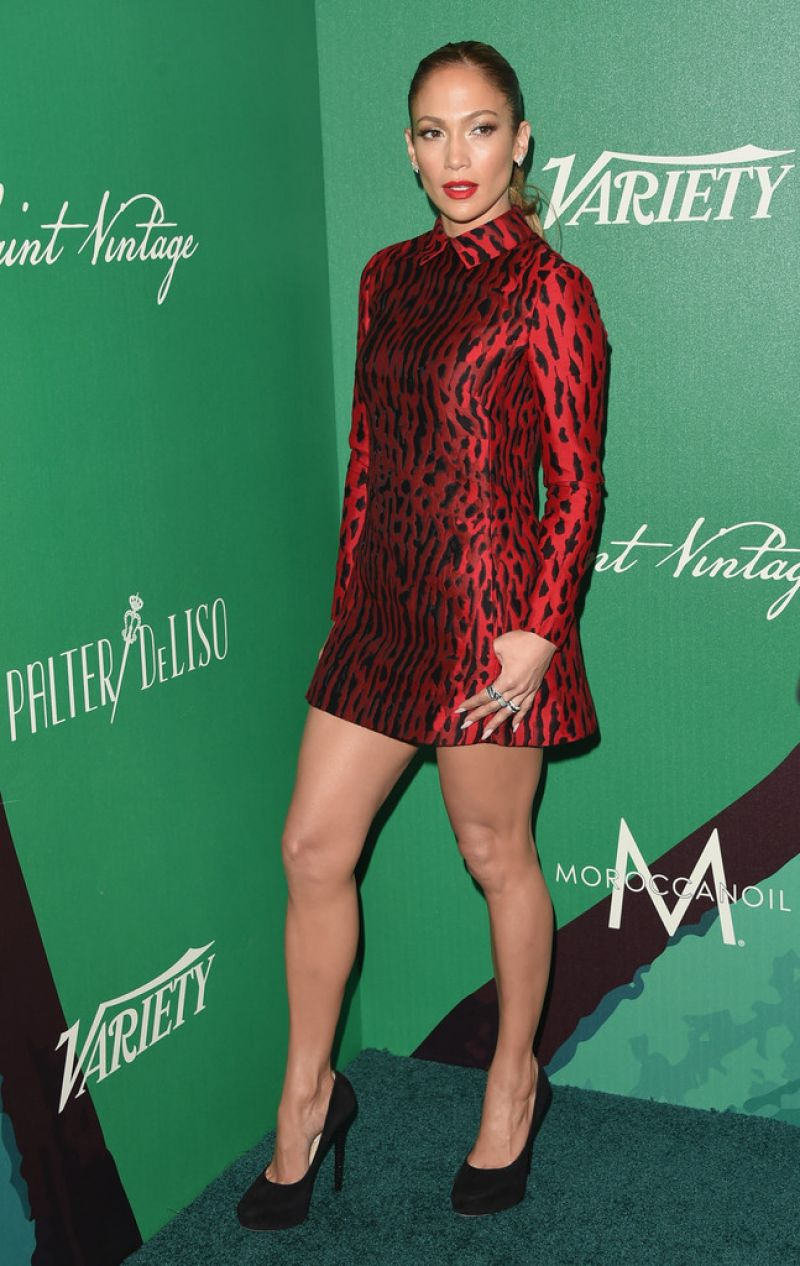 JENNIFER LOPEZ at 2014 Variety Power of Women in Beverly Hills