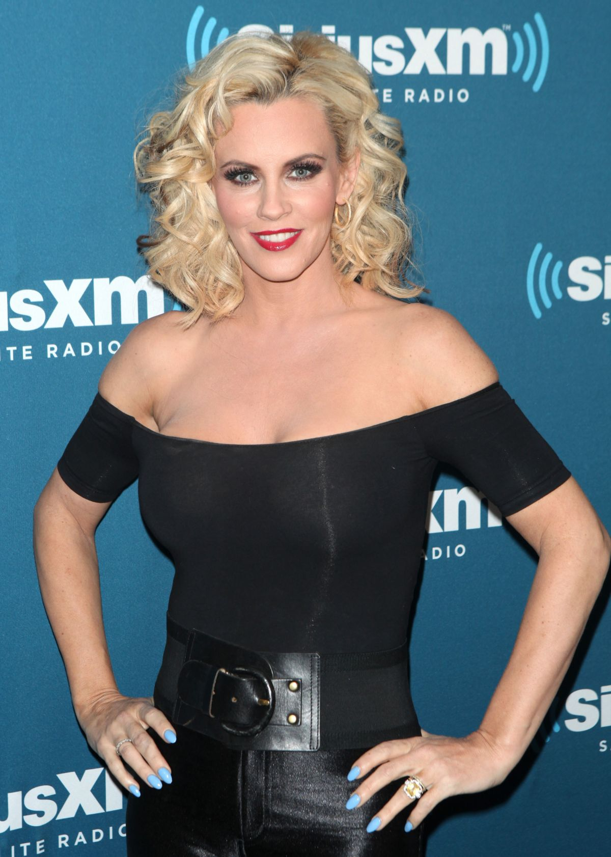 jenny mccarthy at halloween costume party at siriusxm studios in new