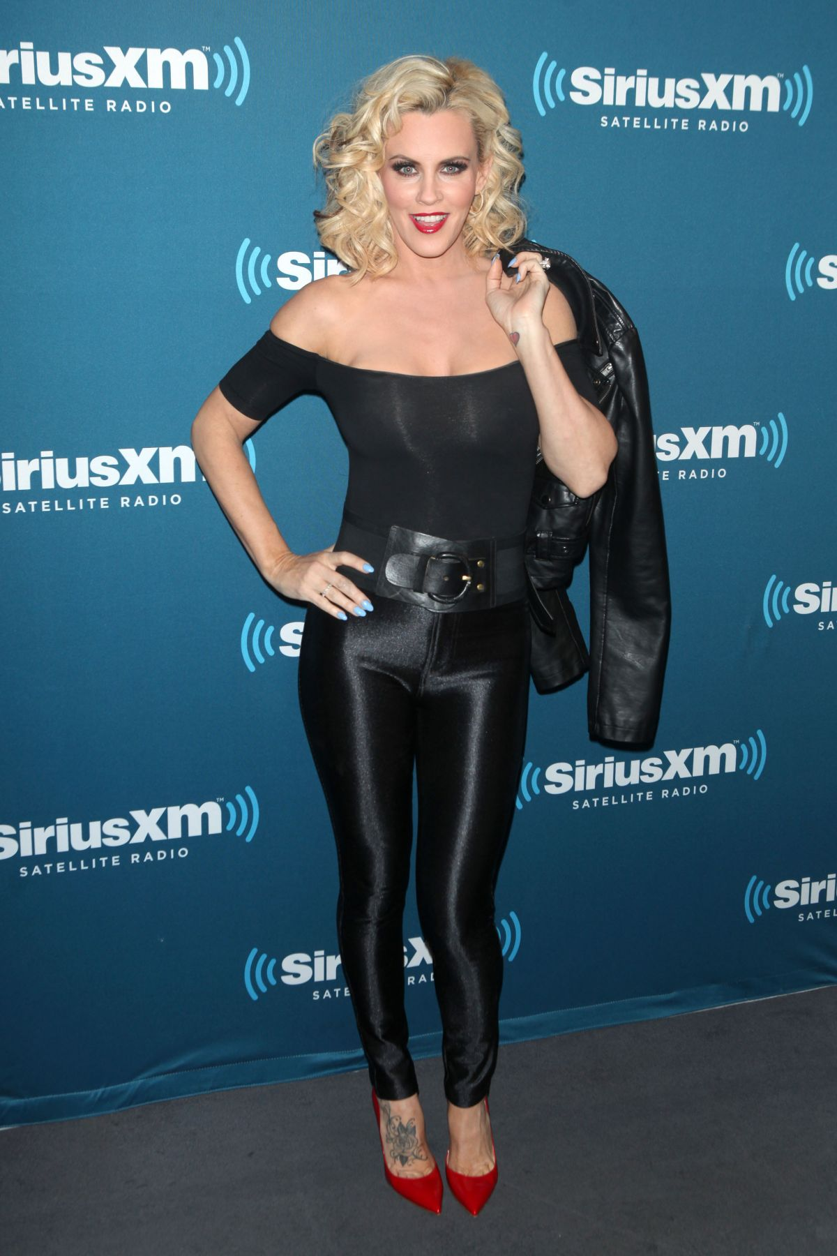 JENNY MCCARTHY at Halloween Costume Party at SiriusXM Studios in New York