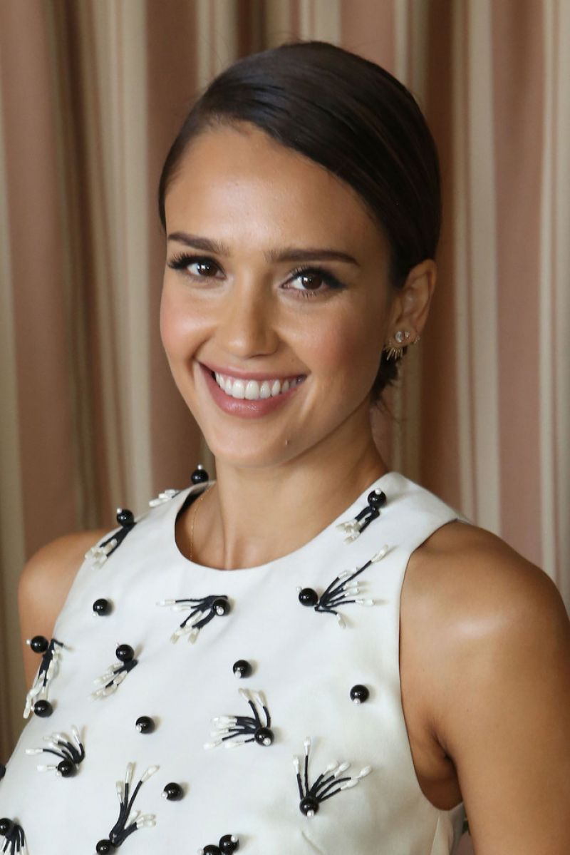 JESSICA ALBA at Self Luncheon in Los Angeles - HawtCelebs - HawtCelebs