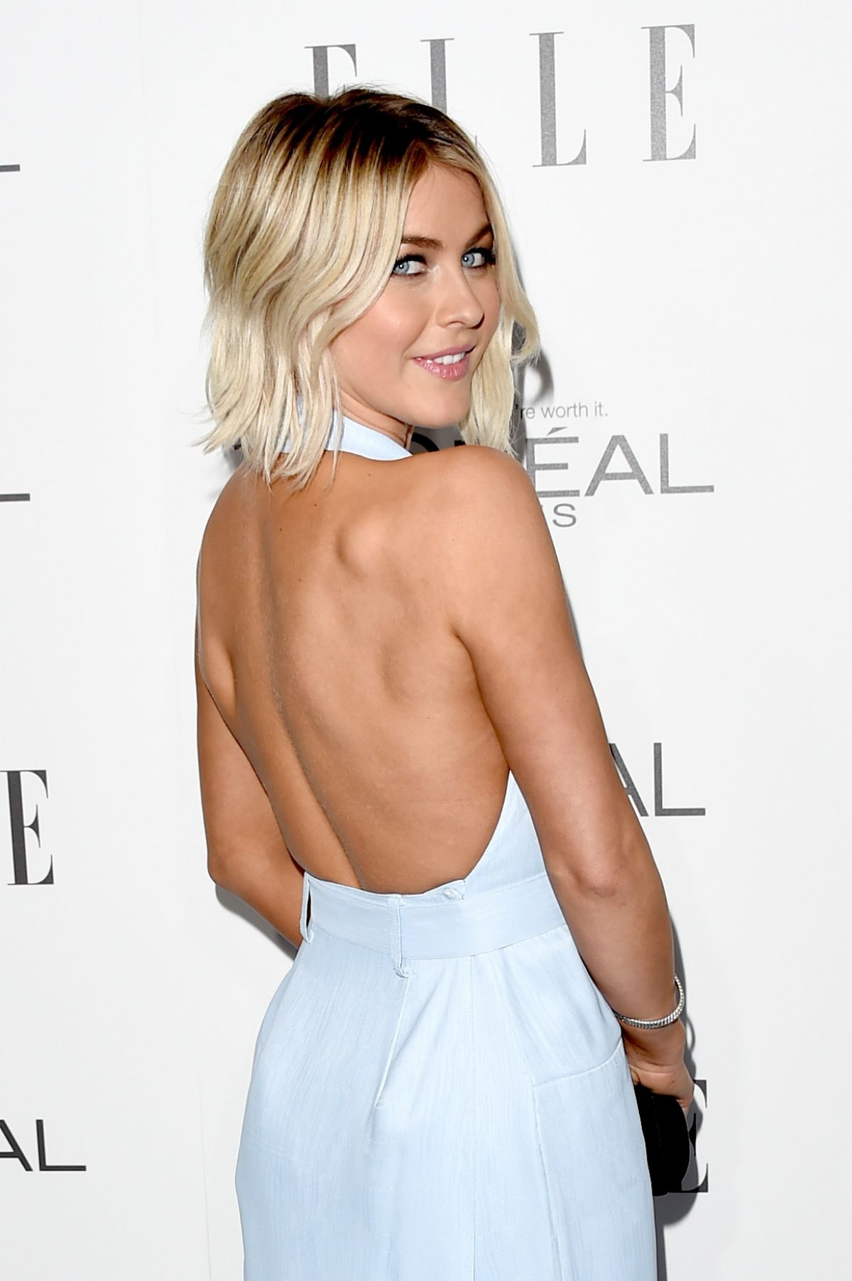 JULIANNE HOUGH at Elle