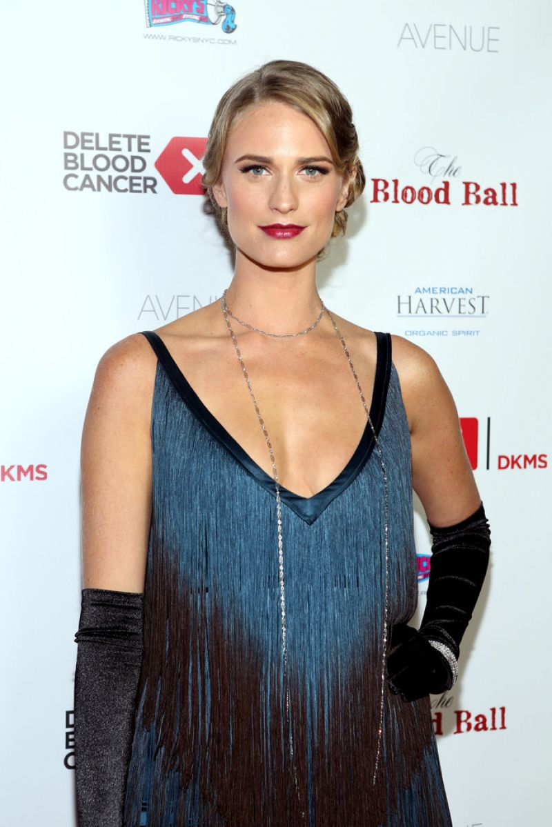 JULIE HENDERSON at The Blood Ball to Benefit Delete Blood Cancer in New York
