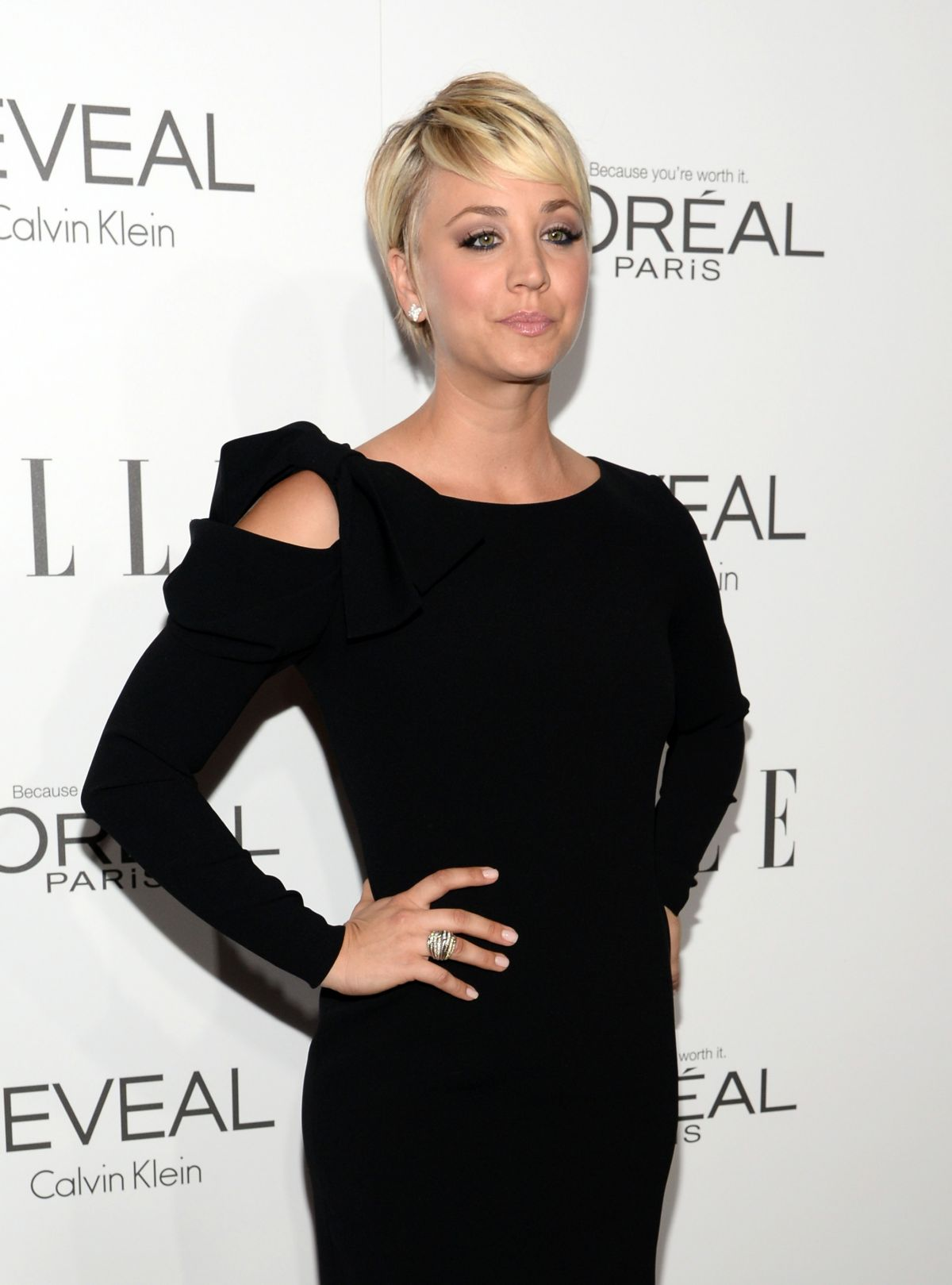 KALEY CUOCO at Elle's Women in Hollywood Awards in Los Angeles