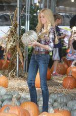KATHERINE MCNAMARA at Mr. Bones Pumpkin Patch