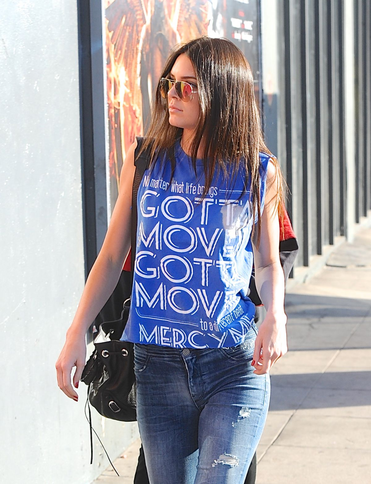KENDALL JENNER Out Shopping in Hollywood 2710