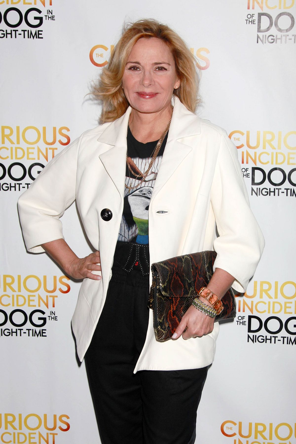 KIM CATTRALL at The Curious Incident of the Dog in the Night Time Opening Night