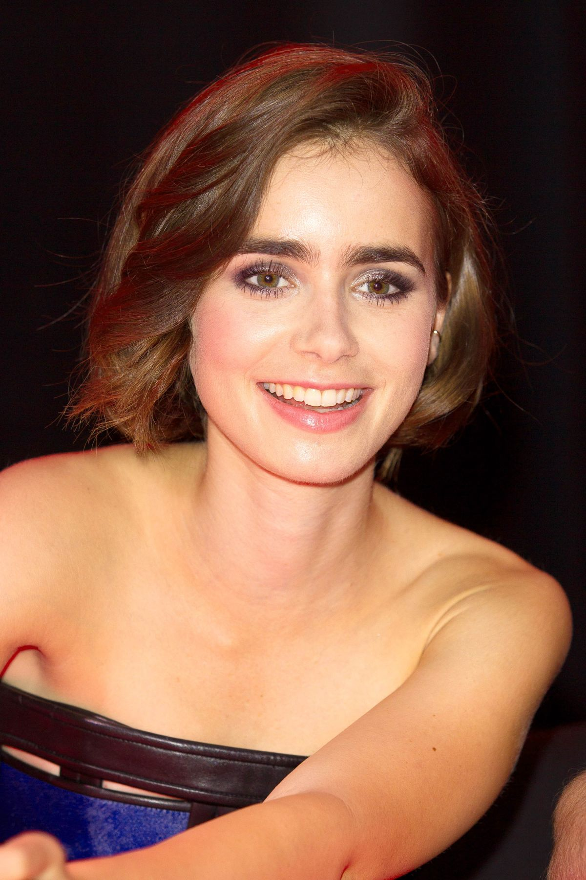Lily Collins At Love Rosie Meet And Greet In London Hawtcelebs
