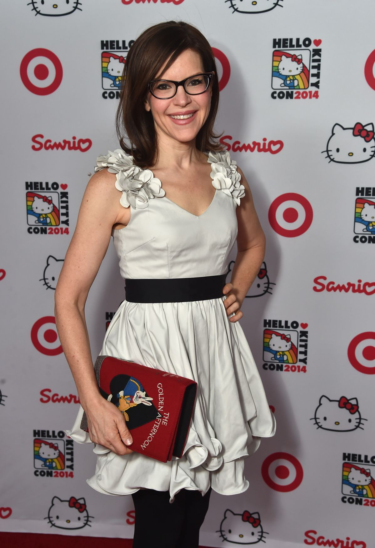 LISA LOEB at Hello Kitty Con 2014 Opening Night Party in Los Angeles