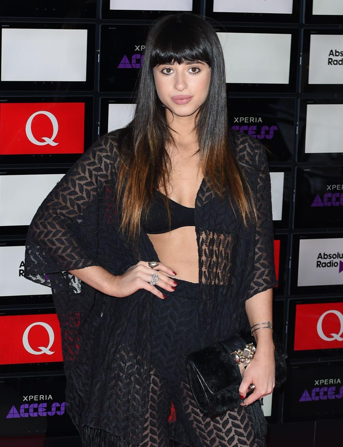 LOUISA ROSE ALEN at Xperia Access Q Awards in London