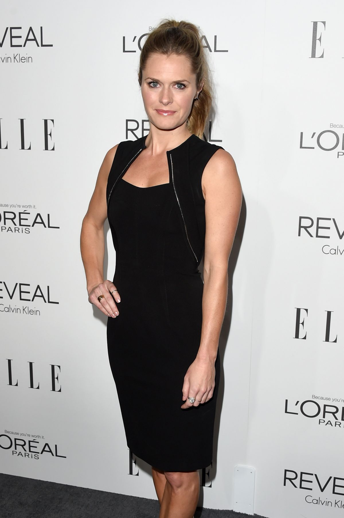 MAGGIE LAWSON at Elle's Women in Hollywood Awards in Los Angeles