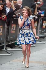 MAISIE WILLIAMS at The Falong Premiere in London
