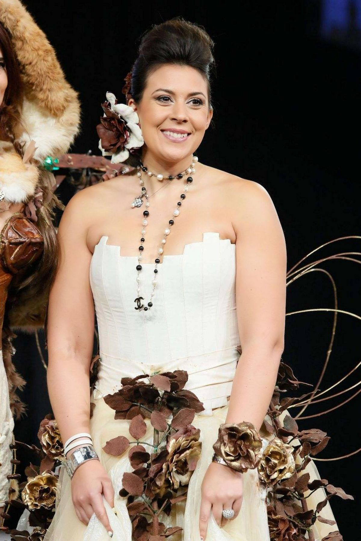 MARION BARTOLI at 20eme Salon du Chocolat in Paris