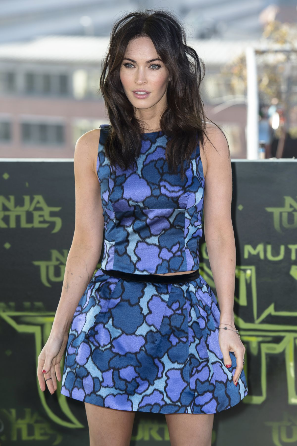 MEGAN FOX at Teenage Mutant Ninja Turtles Photocall in Berlin
