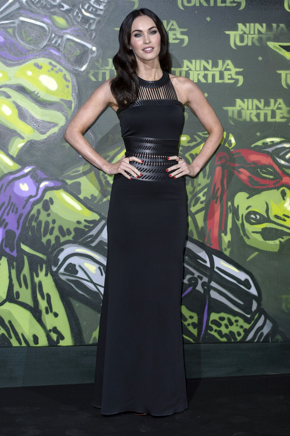 MEGAN FOX at Teenage Mutant Ninja Turtles Premiere in Berlin