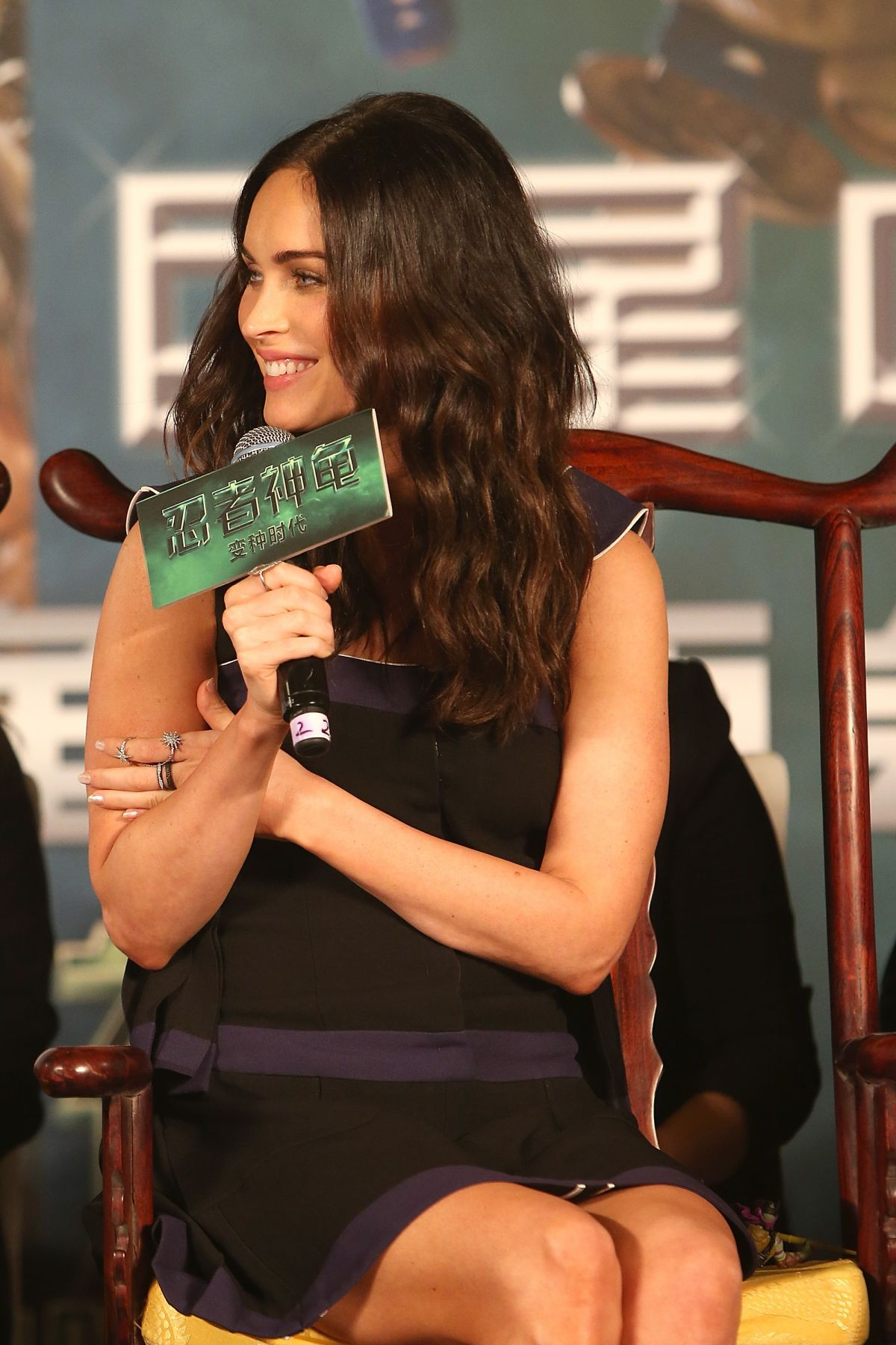 MEGAN FOX at Teenage Mutant Ninja Turtles Press Conference in Beijing