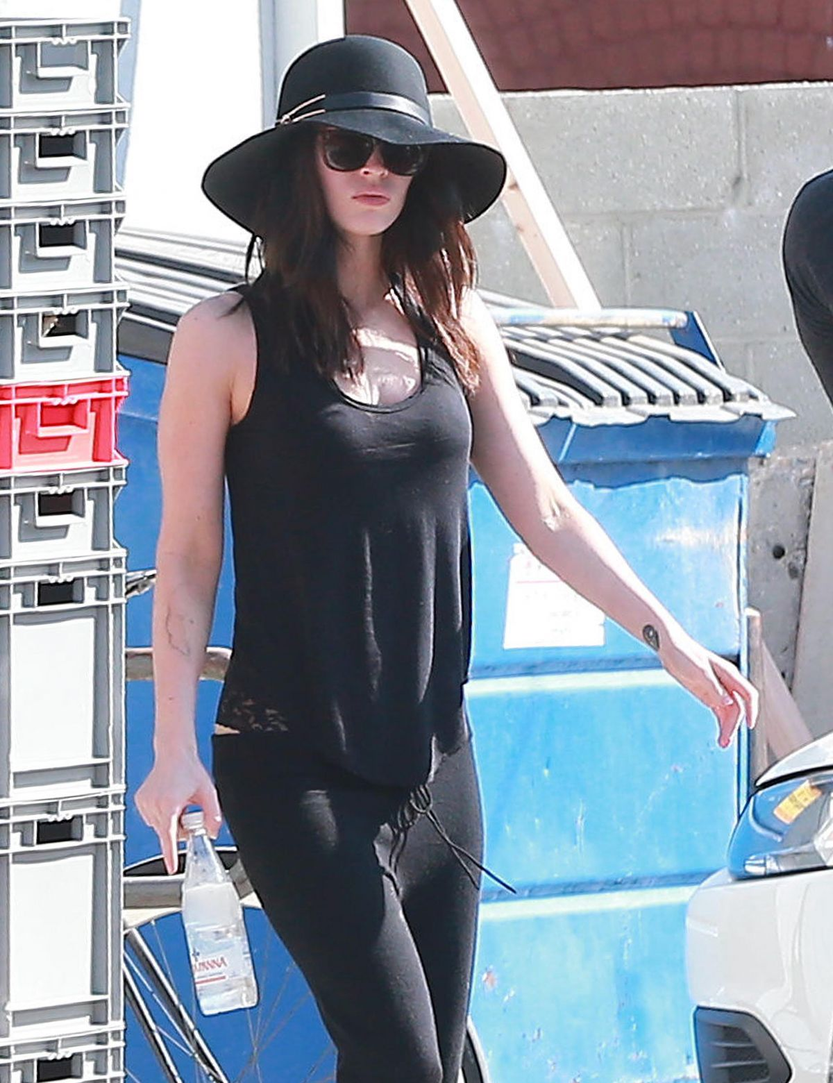 MEGAN FOX Our and About in Los Angeles 1010