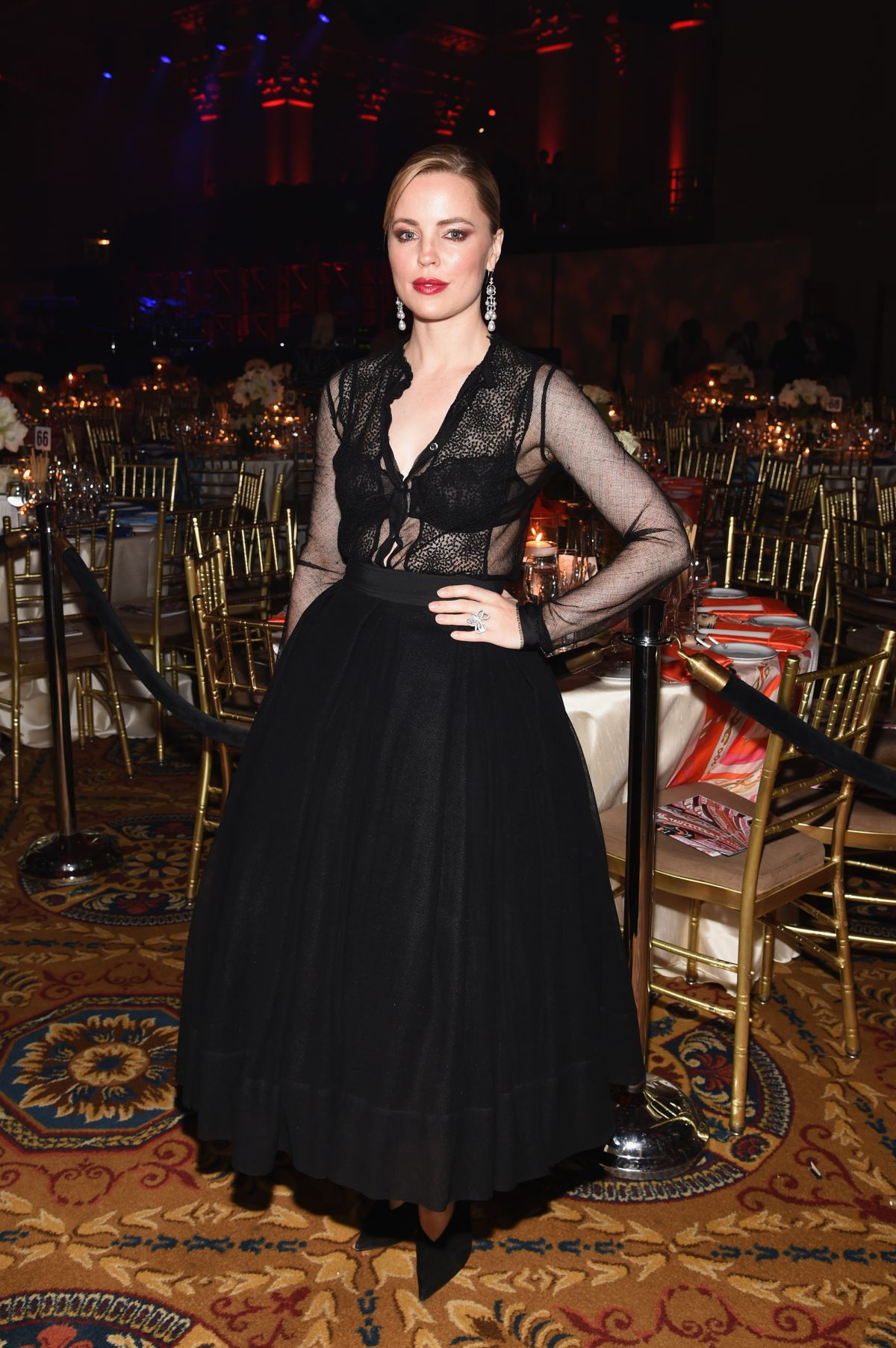 MELISSA GEORGE at Angel Ball 2014 in New York