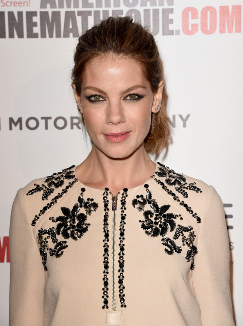 MICHELLE MONAGHAN at 2014 American Cinematheque Award in Beverly Hills
