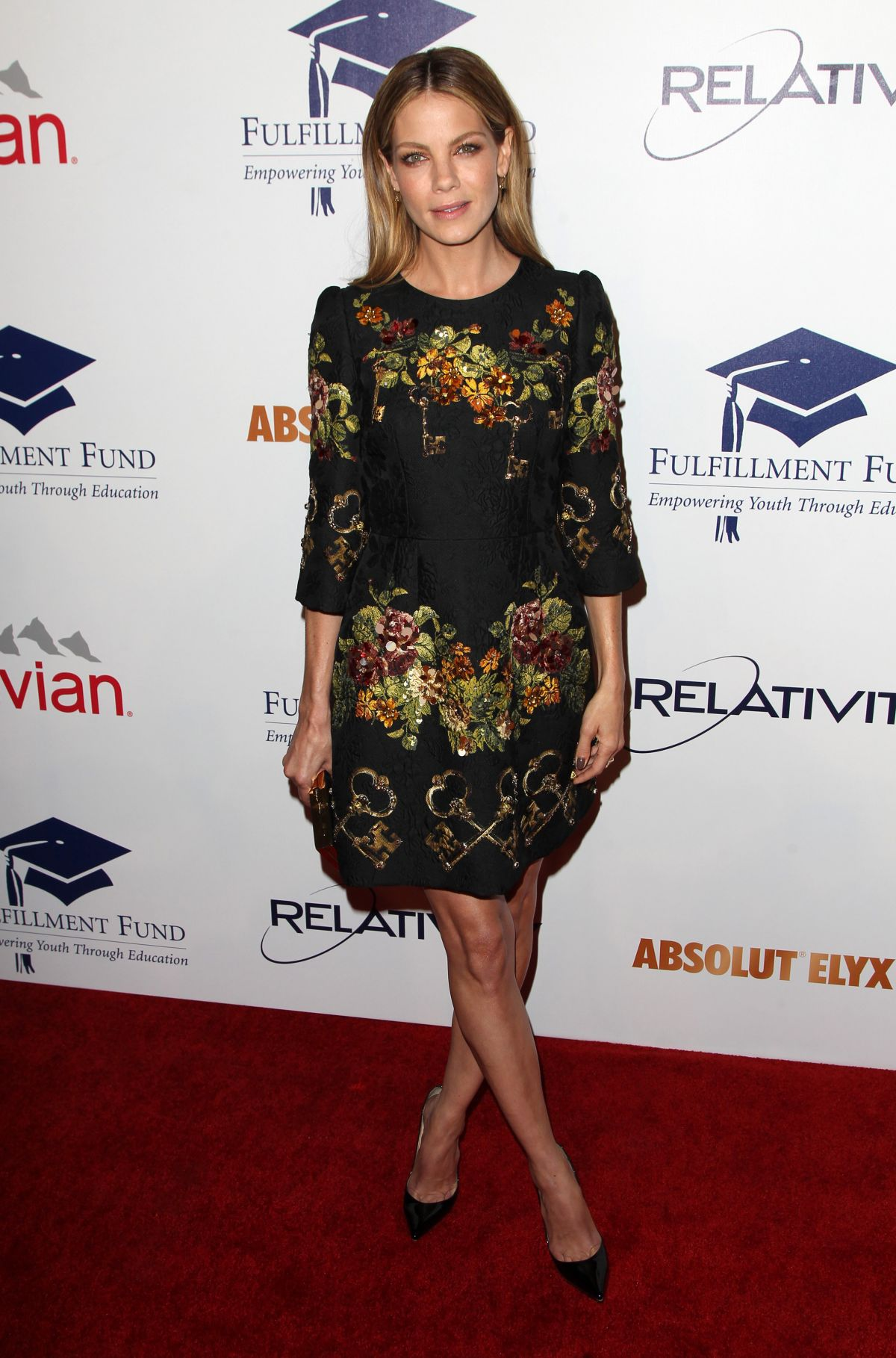 MICHELLE MONAGHAN at 20th Annual Fulfillment Fund Stars Benefit Gala in Beverly Hills
