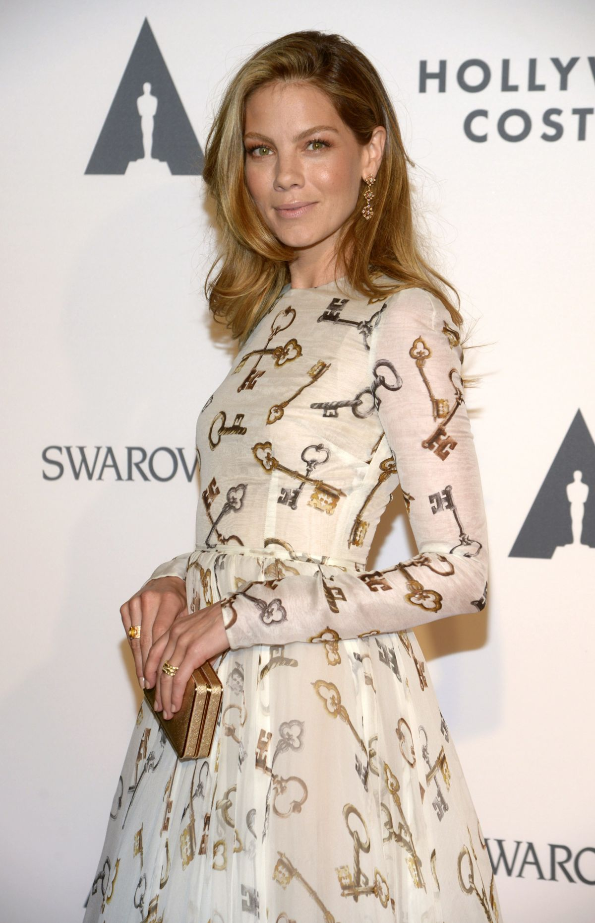 MICHELLE MONAGHAN at Ampas Hollywood Costume Opening Party in Los Angeles
